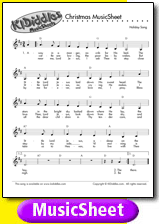 picture about Lyrics to We Wish You a Merry Christmas Printable titled We Need By yourself a Merry Xmas tune and lyrics in opposition to KIDiddles