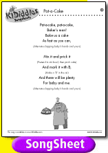 Patty Cake Lyrics Baby Song