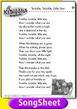 [song sheet]